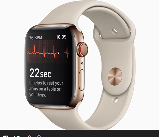 Apple Watch Series 4 EKG App