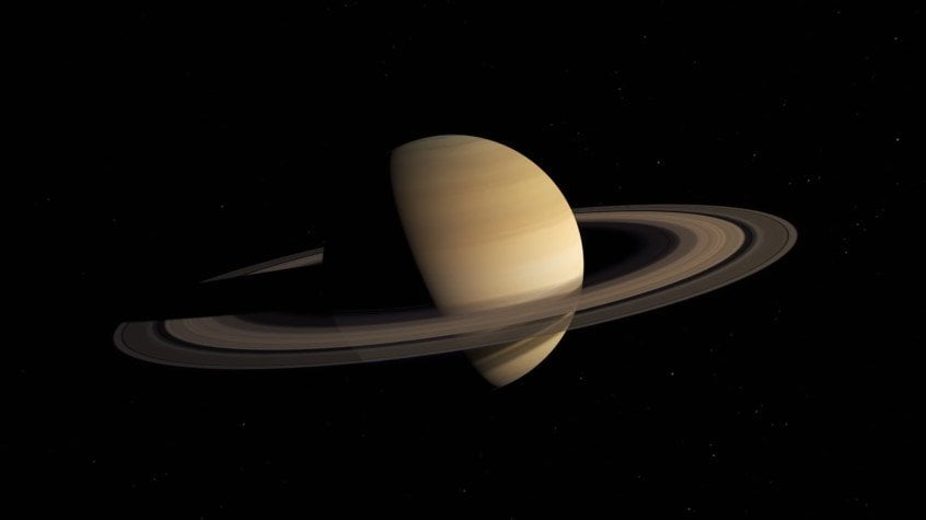 Saturn's rings are younger