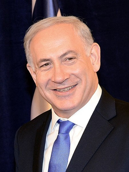 Benjamin Netanyahu peace with the palestinians