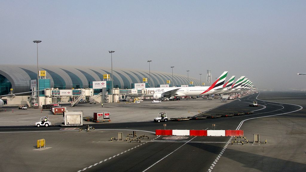 dubai international green air travel