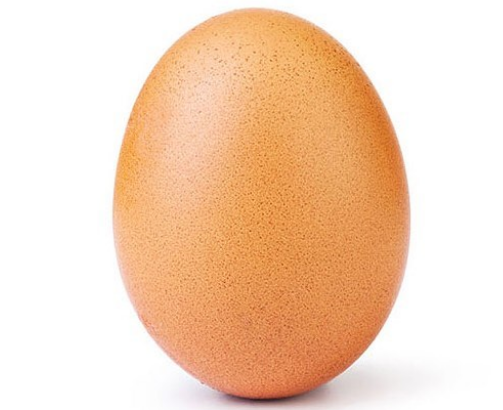 Kylie Jenner most liked Instagram post egg