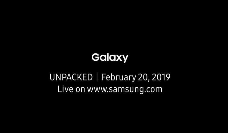 Galaxy S10 Unpacked Event