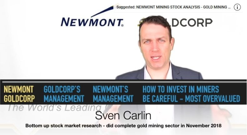 Newmont Goldcorp Stock Merger Analysis