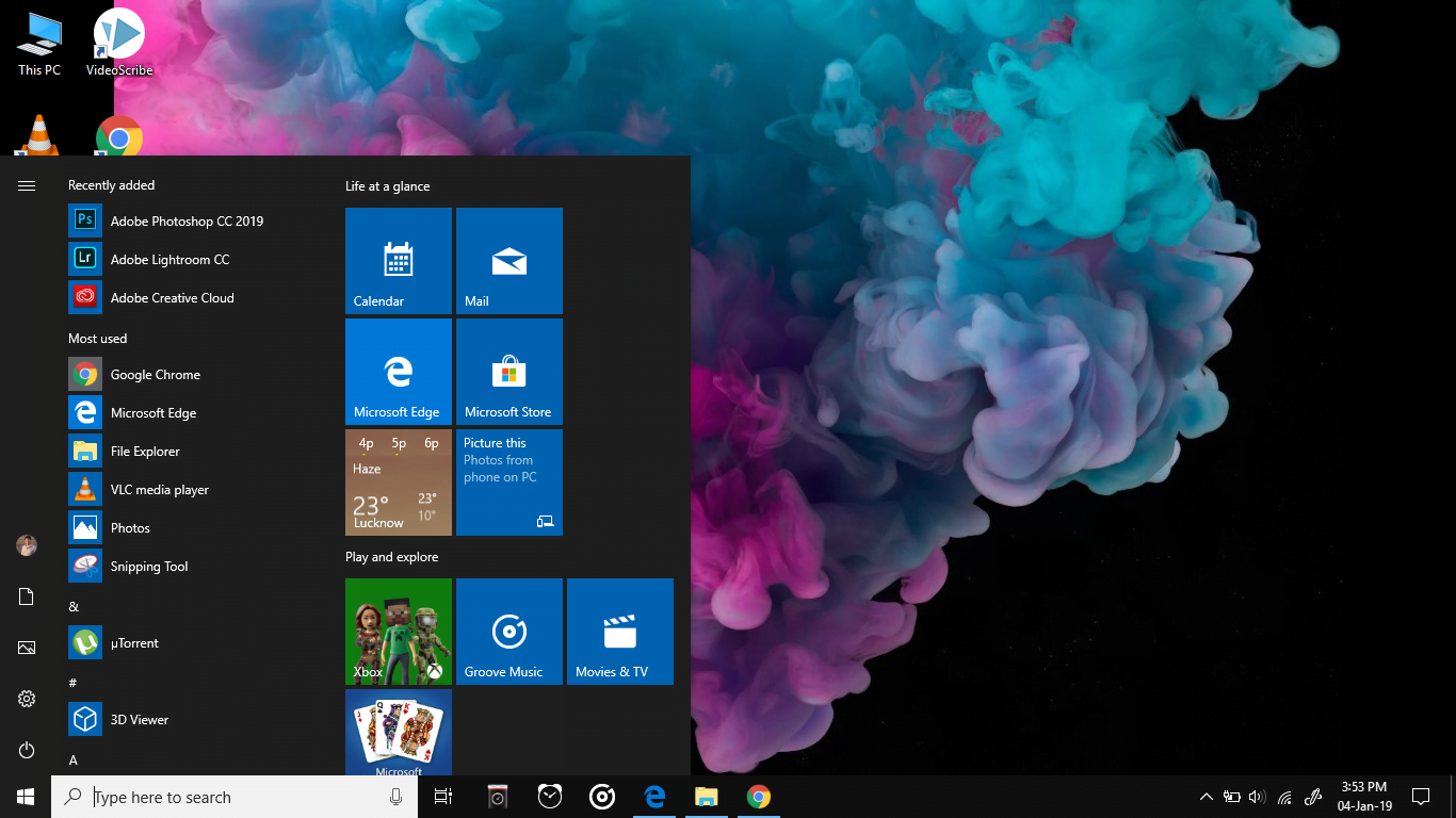 Windows 10 Build 18309