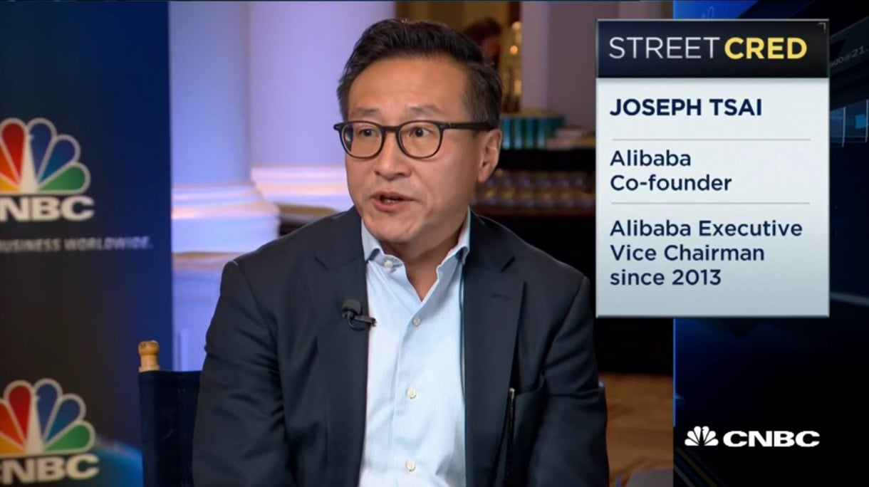 Alibaba Co-Founder Joe Tsai