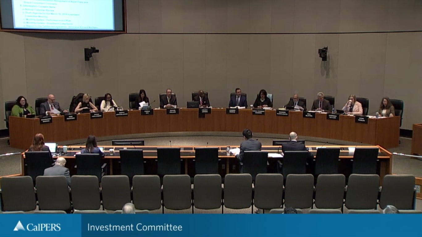 CalPERS Investment Committee