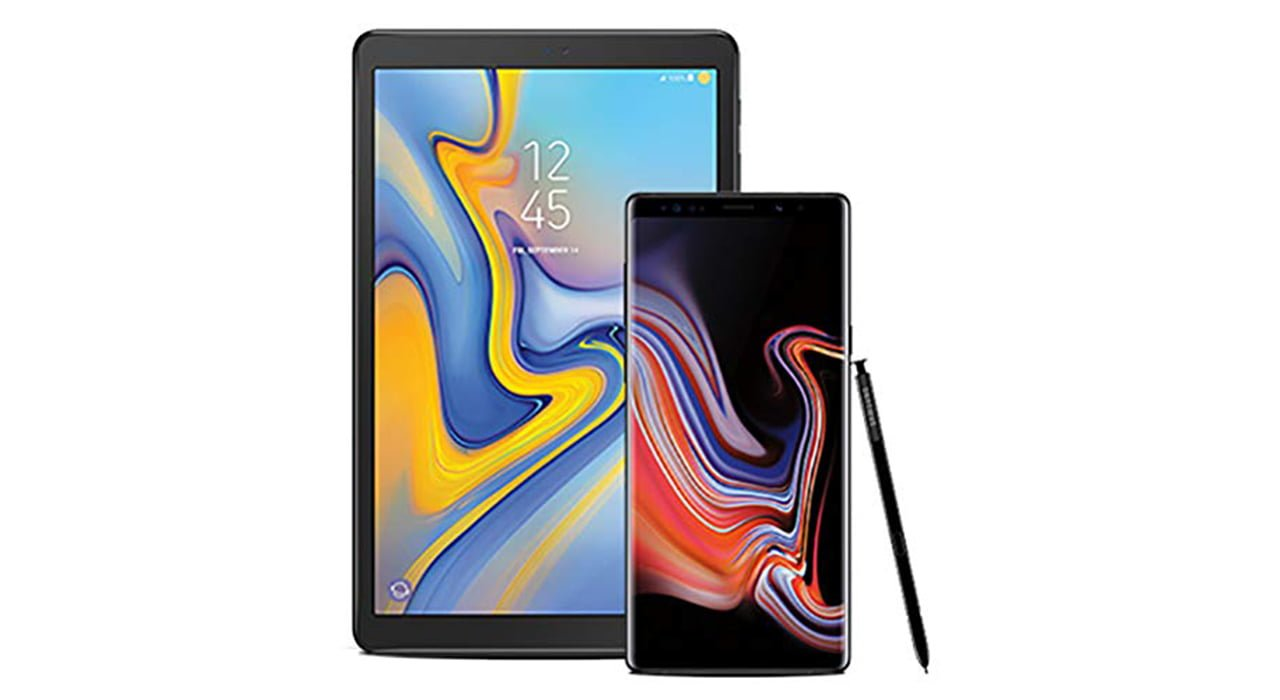 Galaxy Note 9 And Galaxy Tab A