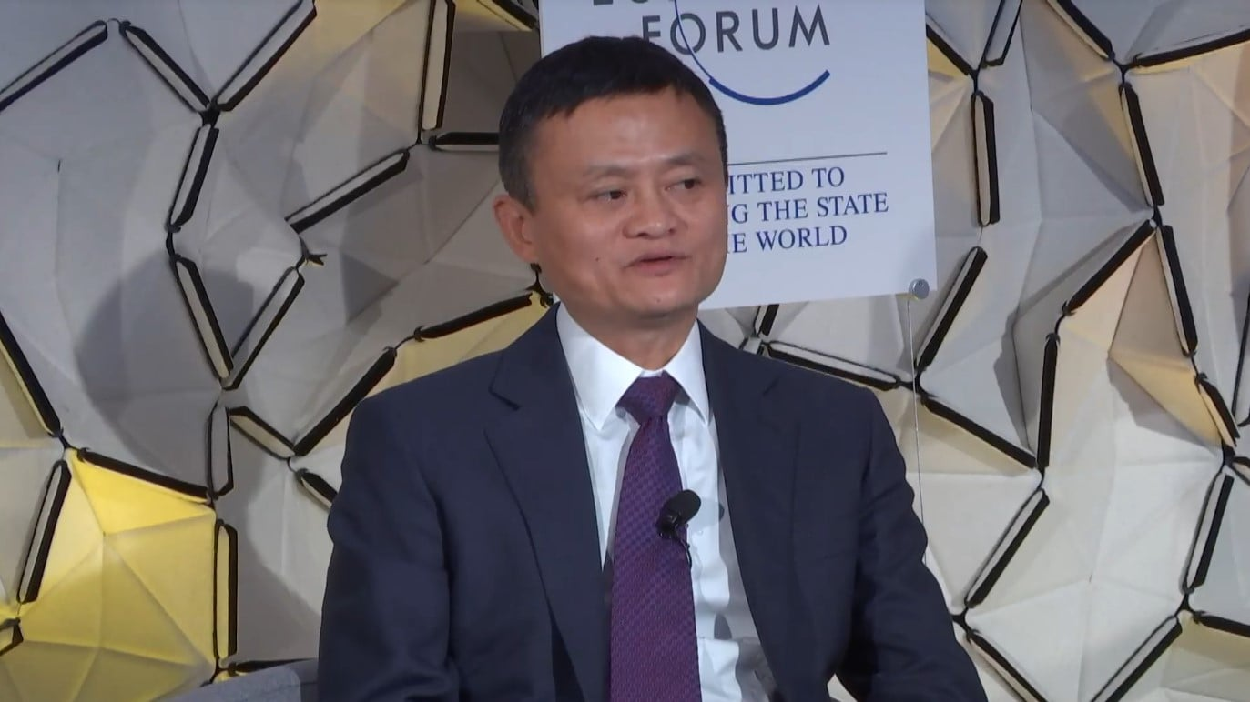 Jack Ma worry about competition