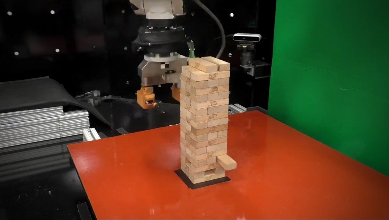 MIT's New Robot Play Jenga