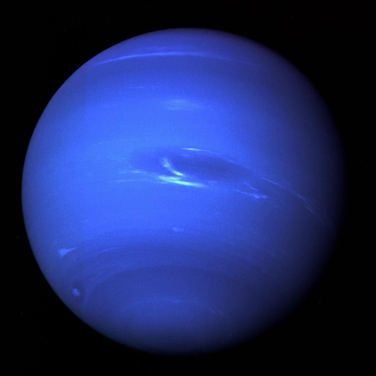Large Dark Vortex On Neptune