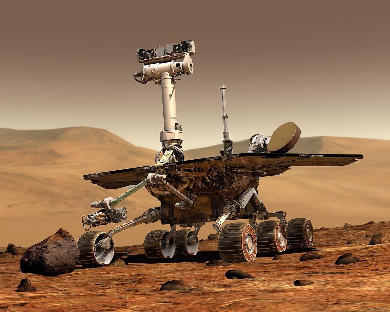 Farewell To Opportunity Rover