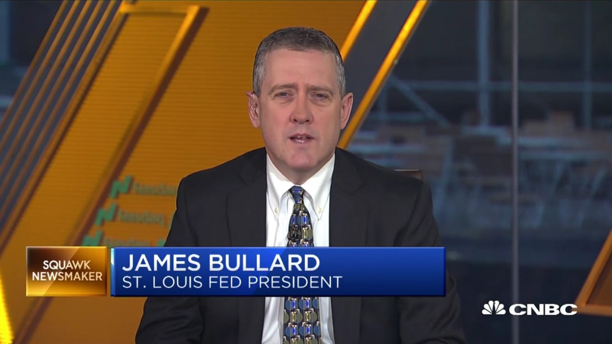 James Brian Bullard St. Louis Fed President James Bullard