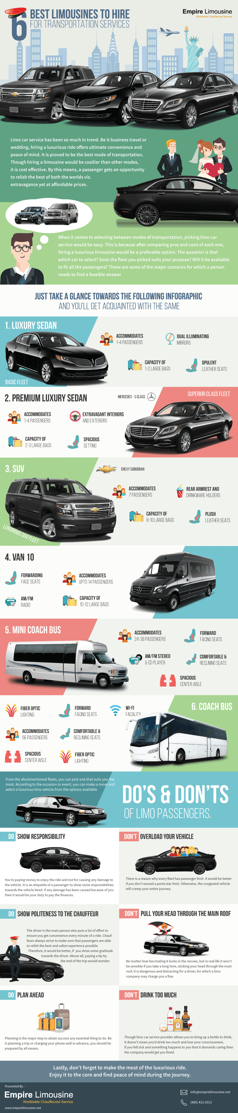 Best Limousines To Hire