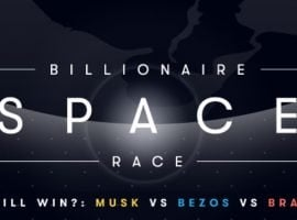 The Billionaire Space Race: Who Will Be The First To Crack The Market?