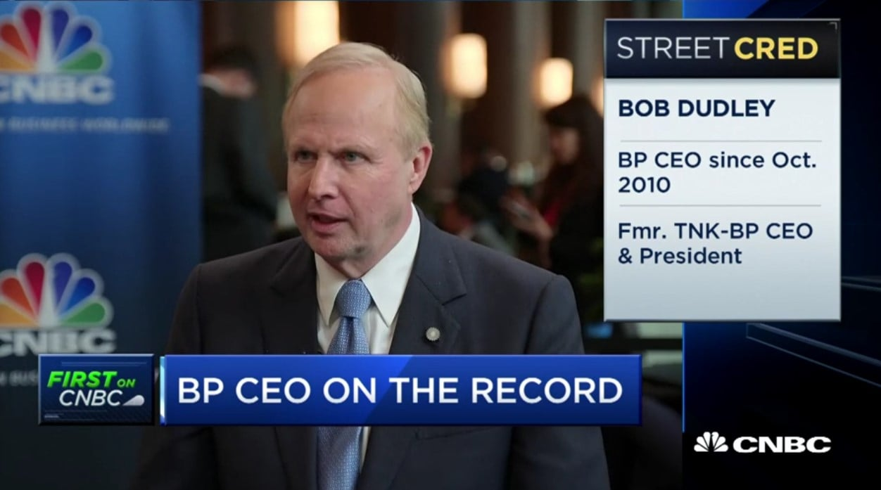 Bob Dudley, BP CEO