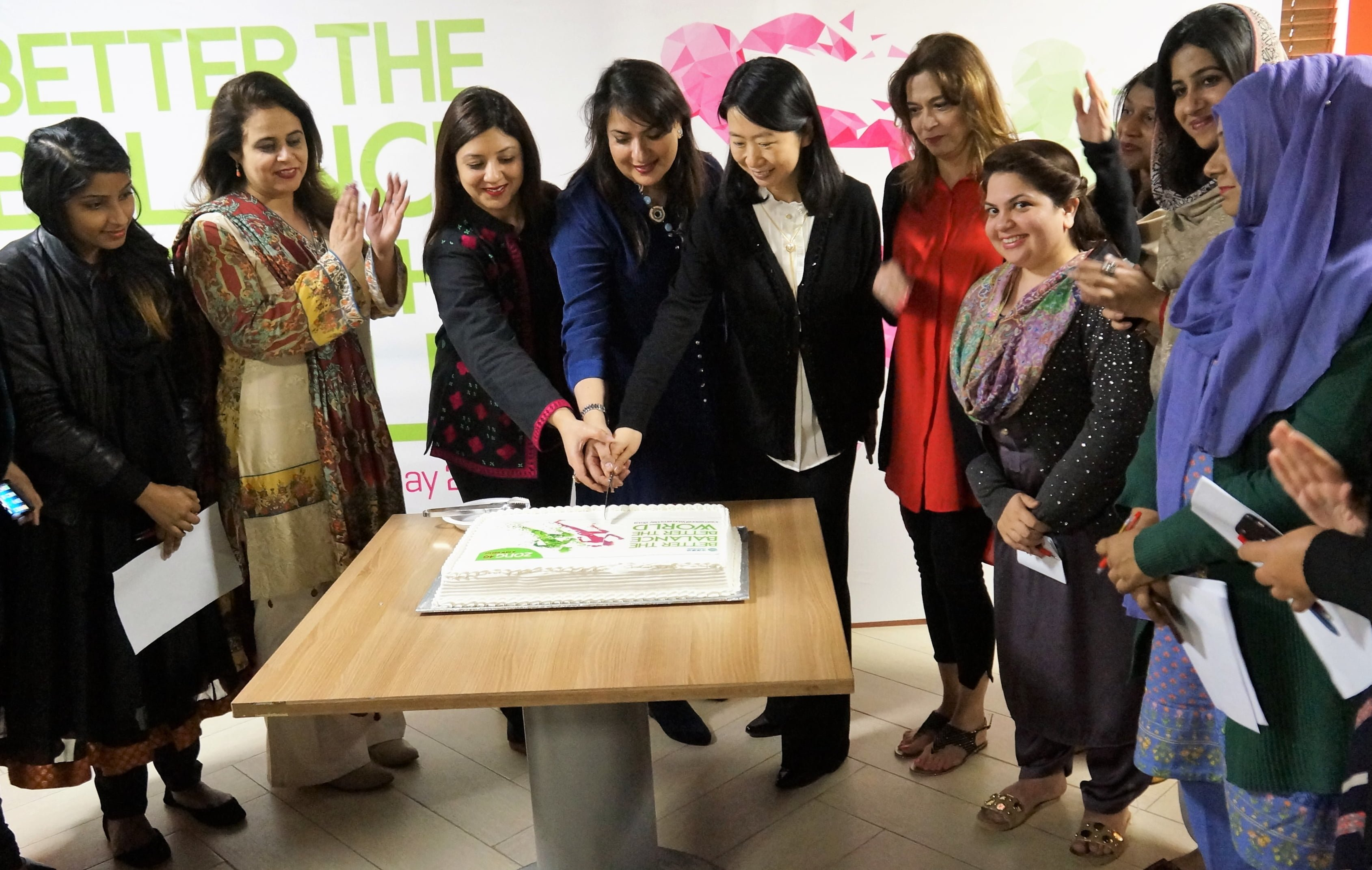 Zong 4G International Women's day