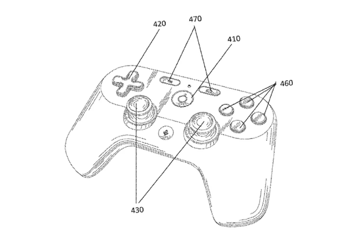 Google Game Controller Patent