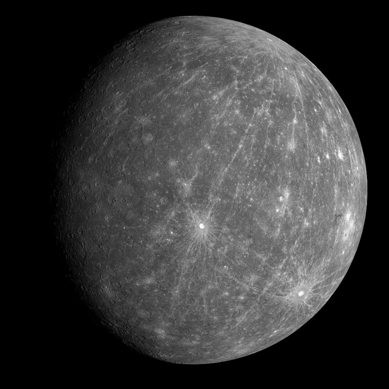 Mercury Mysterious Dust Ring