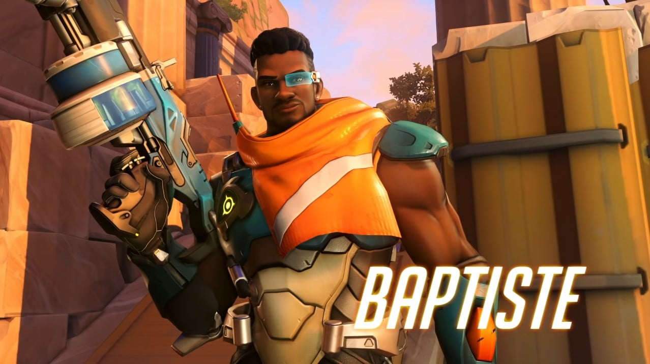 Overwatch's New Hero Baptiste