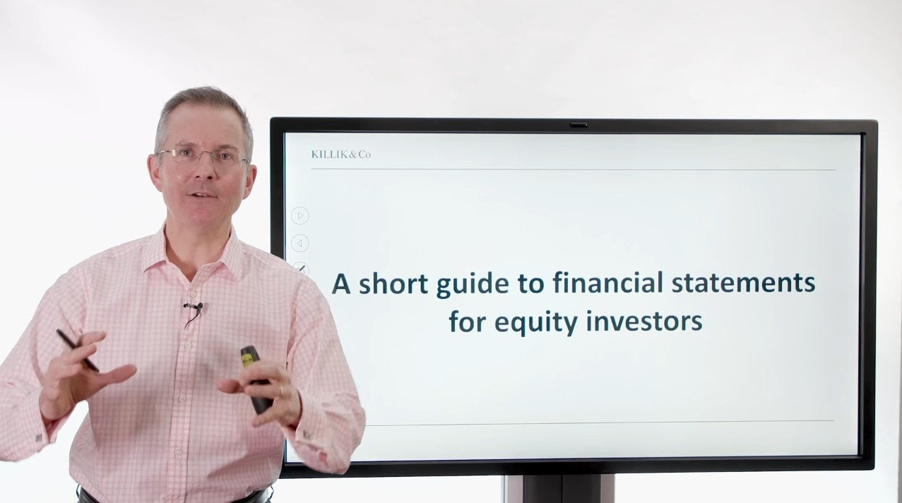 financial statements for equity investors