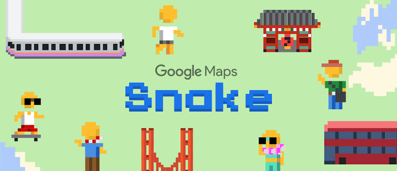 Google Maps April Fools' Day With Iconic Game