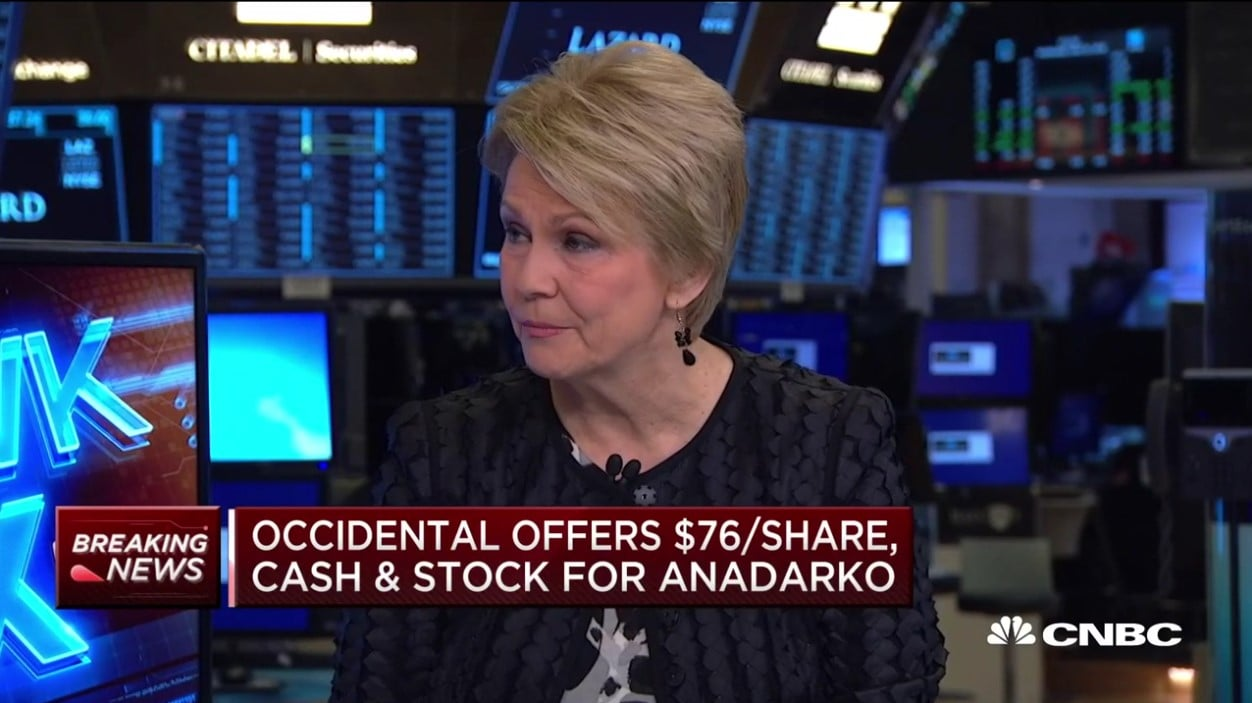 Occidental Petroleum CEO Vicki Hollub