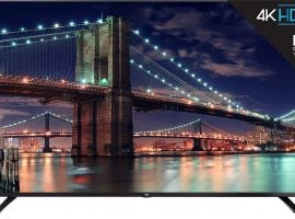 TCL 4K Ultra HD Smart TV; SOAIY Speakers: Amazon Deals