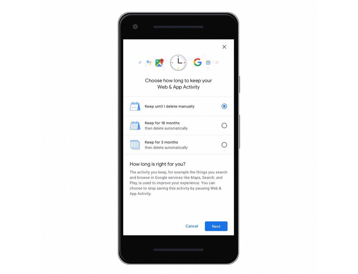 Automatically Delete Location History Google