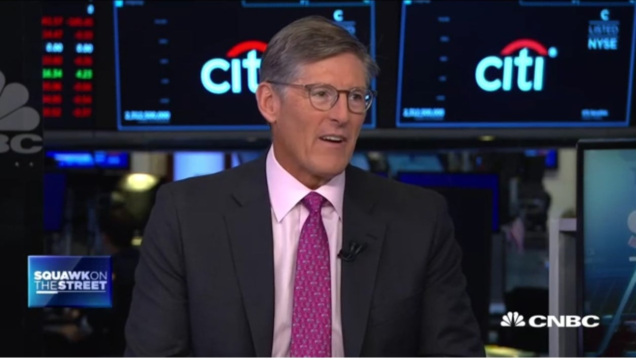 Citigroup CEO Michael Corbat