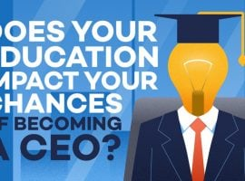 Does Your Education Impact Your Chances Of Becoming A CEO?