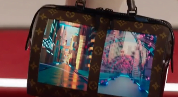 OLED screen handbags from Louis Vuitton