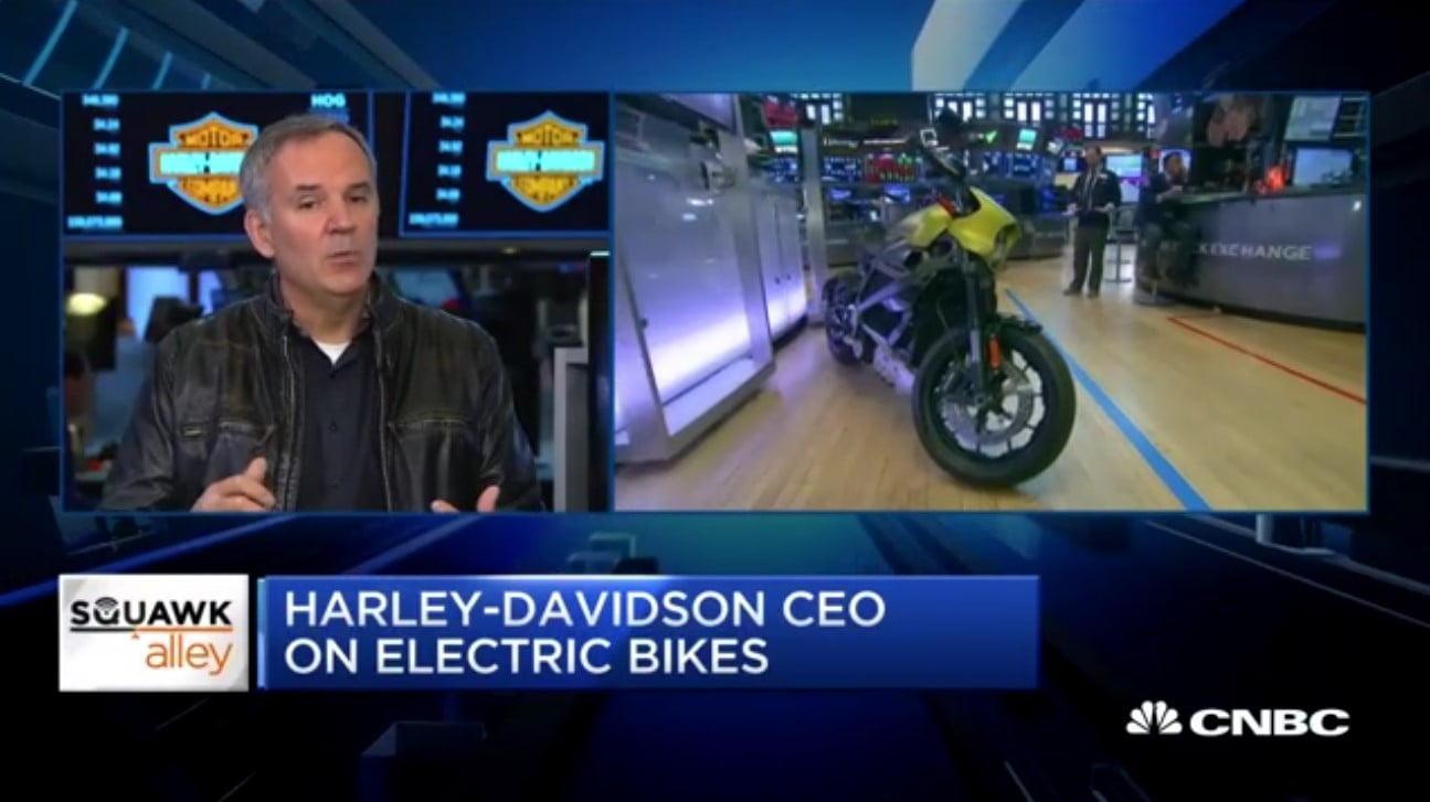 Harley-Davidson CEO Matt Levatich