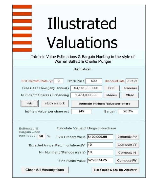 Illustrated Valuations