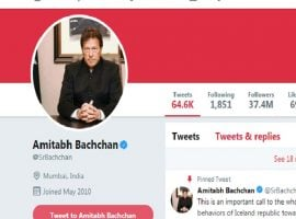 Hackers Placed Imran Khan's Picture After Hacking Amitabh Bachchan's Twitter Account