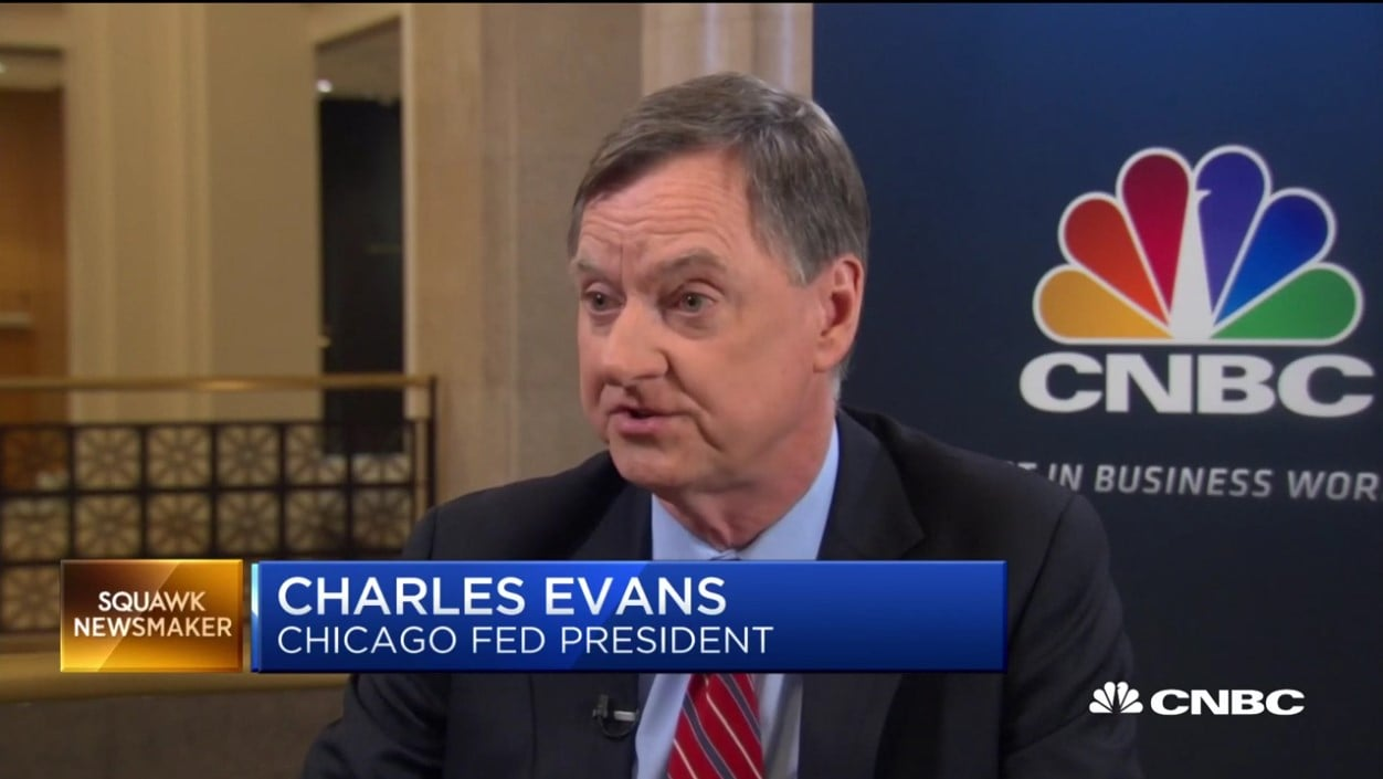 Chicago Fed President Charles Evans