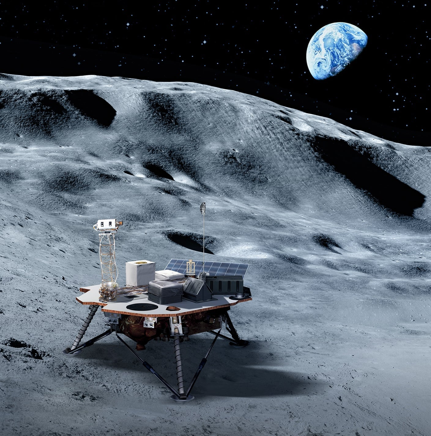Commercial Moon Landing Services For Artemis Mission