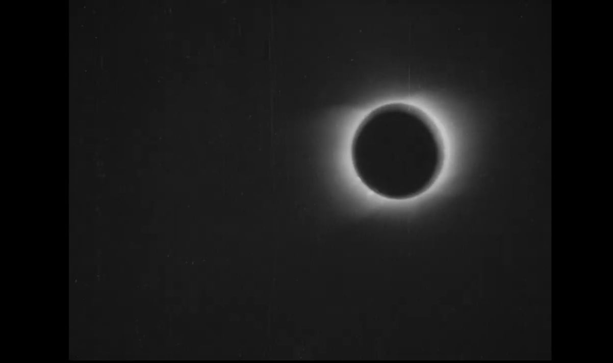 First Total Solar Eclipse Video