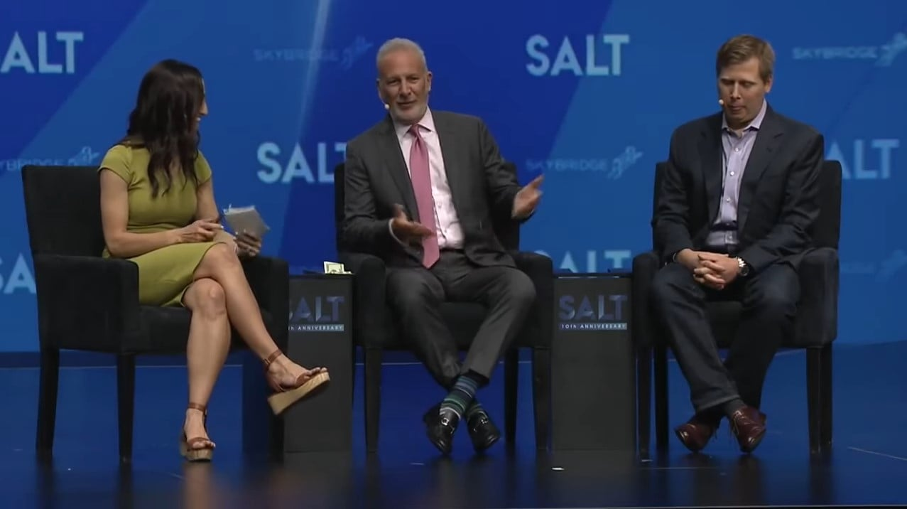 Peter Schiff Debates Bitcoin Legal Tender