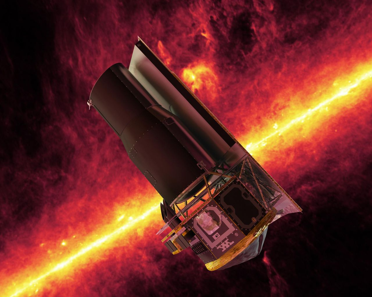 Spitzer Space Telescope Must Be Shut Down