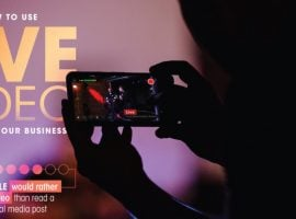How Streaming Live Can Grow Your Business [INFOGRAPHIC]