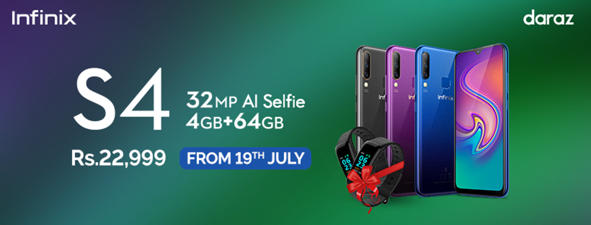Infinix S4 - The Game Changing 32MP AI Selfie Camera