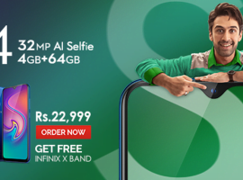 Infinix S4 – The Game Changing 32MP AI Selfie Camera