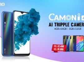 TECNO Mobile Reduced The Price Of Its Flagship Model, The Camon i4