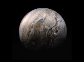 Image data: NASA/JPL-Caltech/SwRI/MSSS; Image processing by Kevin M. Gill, licensed under CC by 3.0