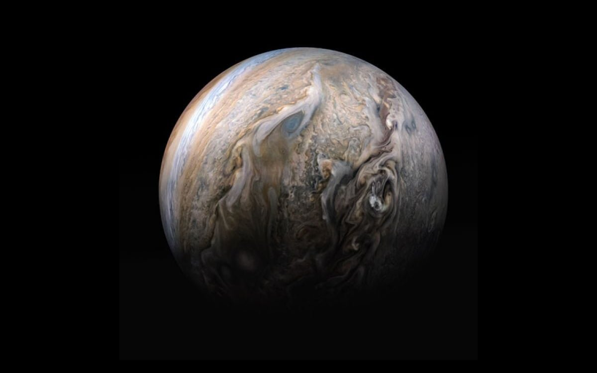 Colorful Clouds on Jupiter