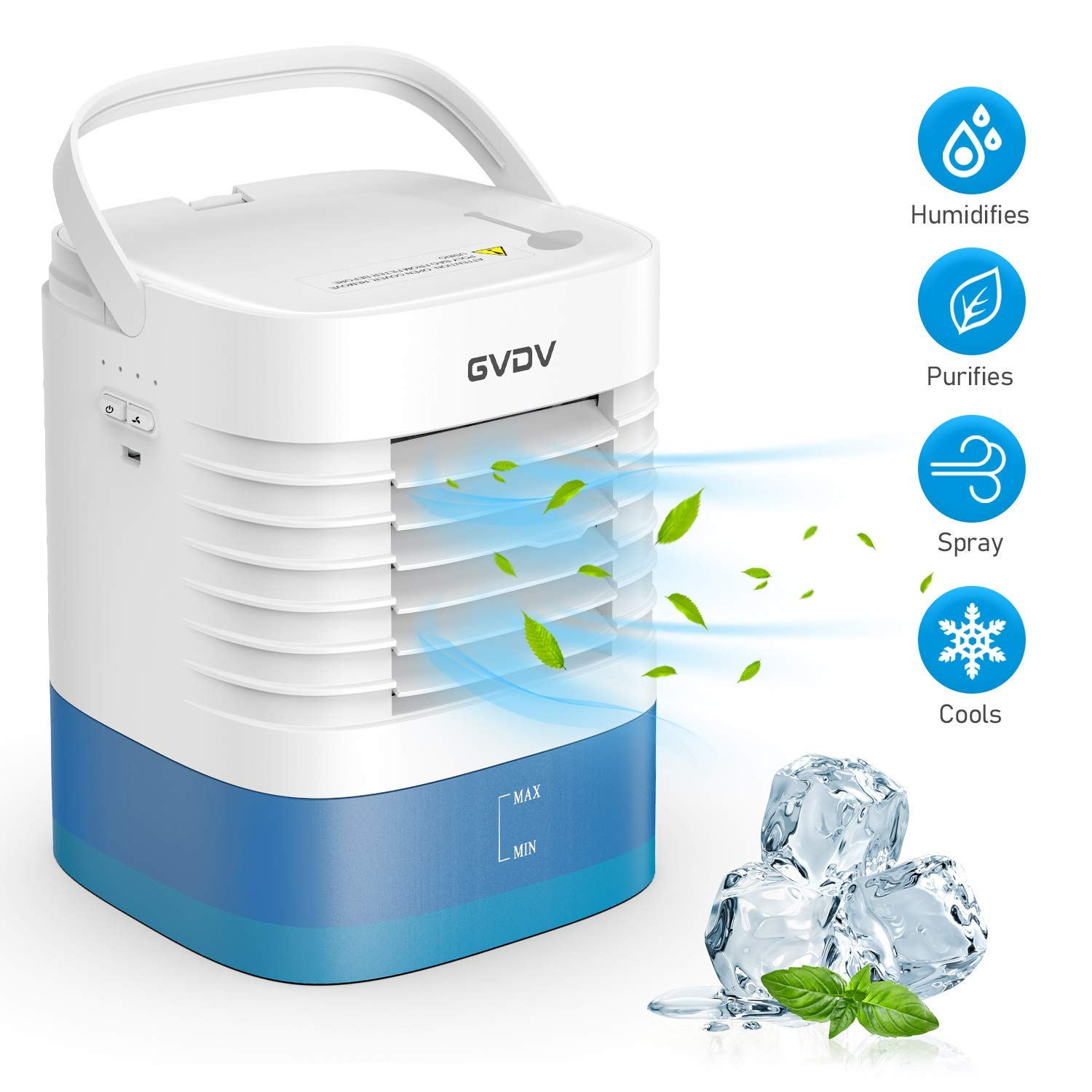 GVDV Personal Air Cooler Ice Conditioner