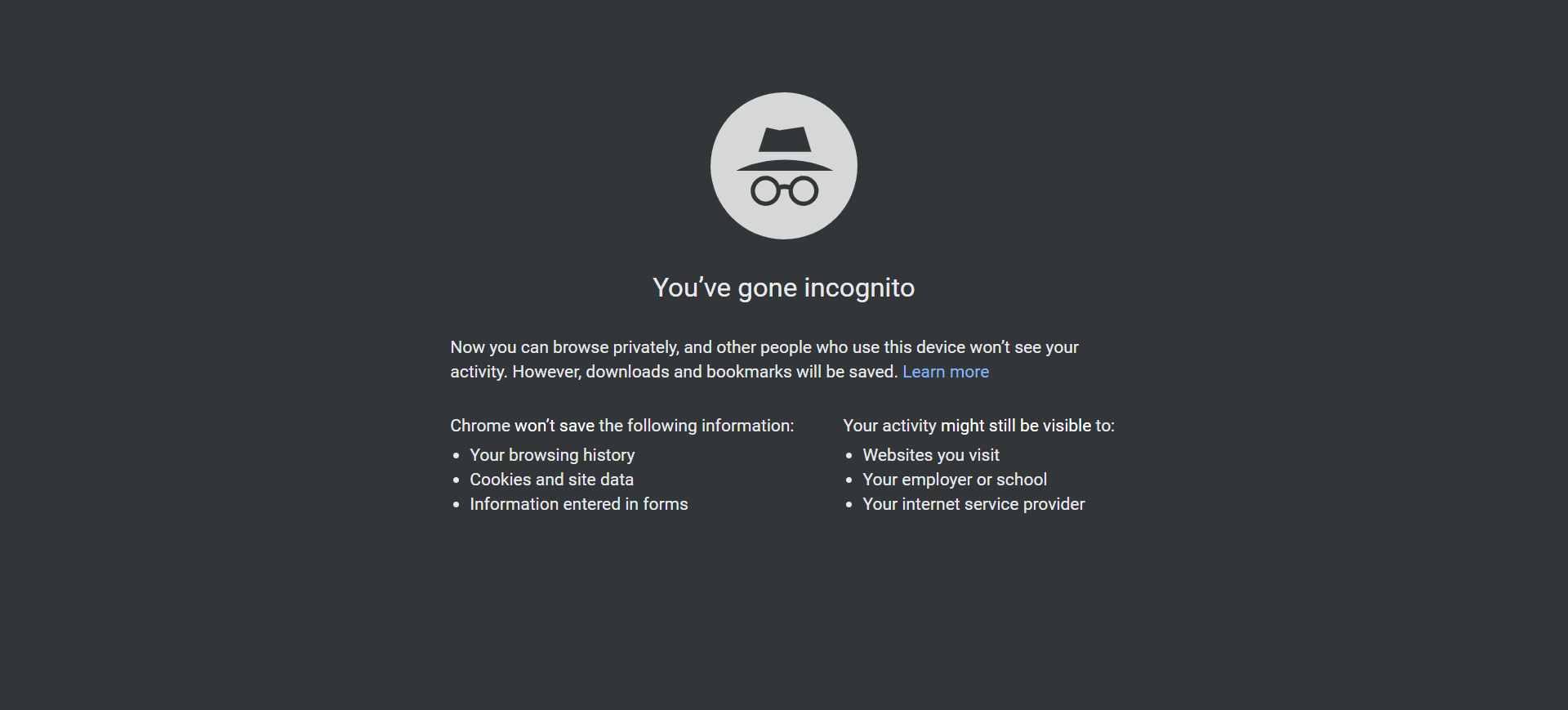 Google Chrome To Prevent Sites From Detecting Incognito Mode