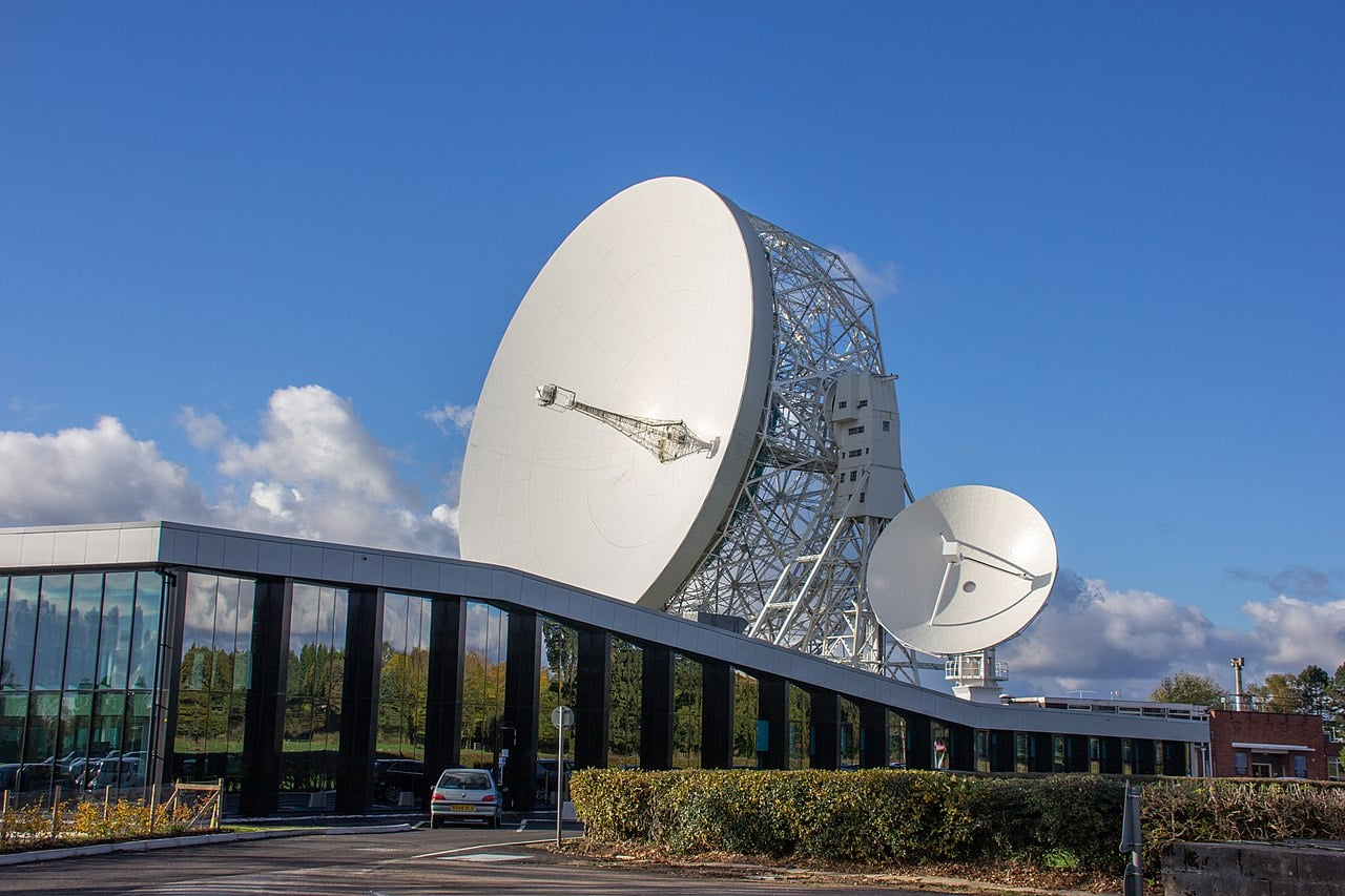 Jodrell Bank Observatory UNESCO World Heritage Site