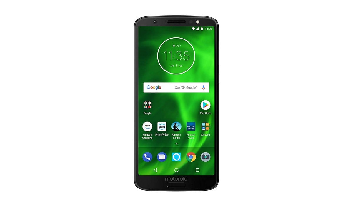 Moto G6 With Alexa Hands-Free