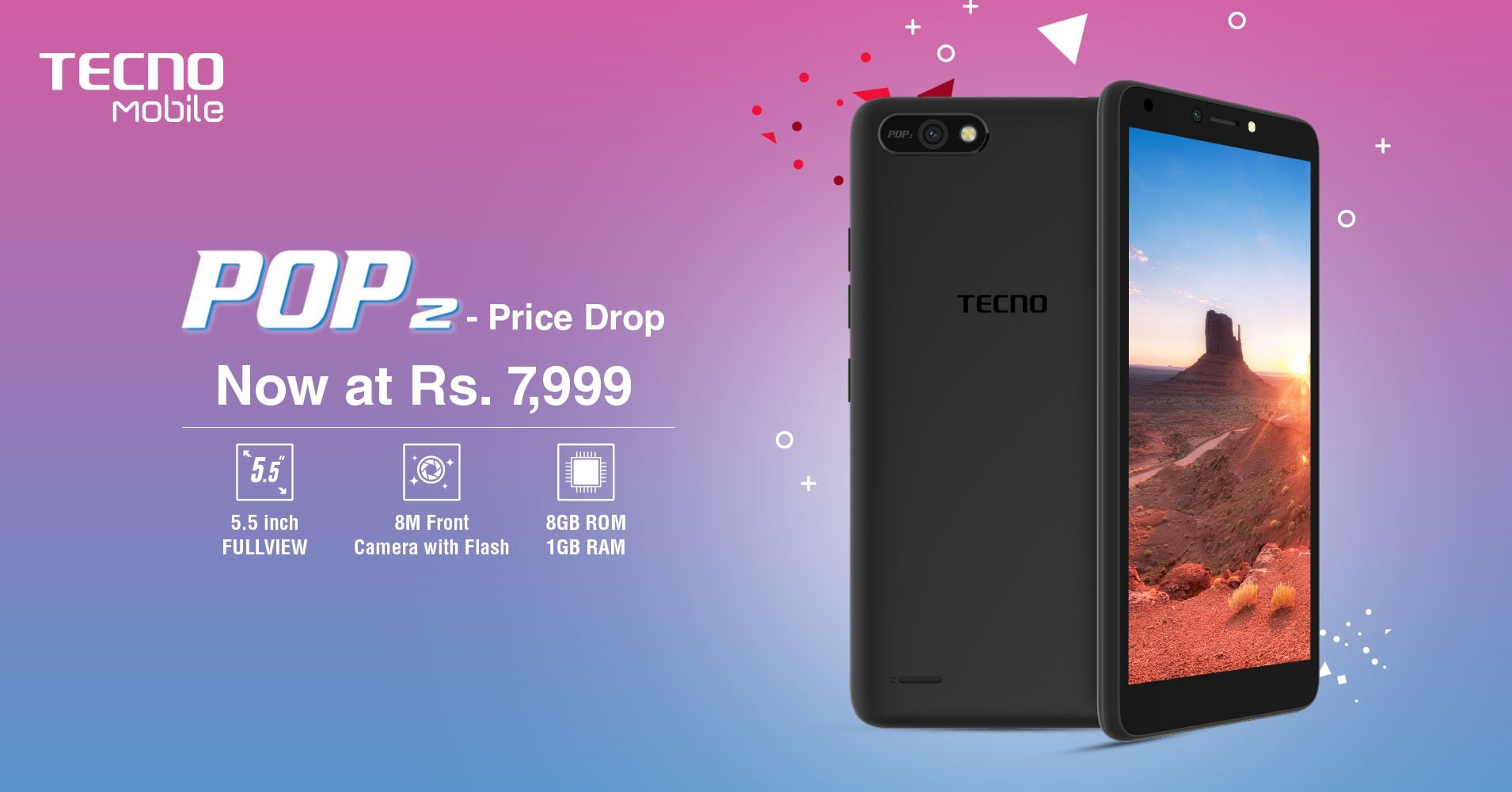 TECNO Mobile Has Reduced The Price Of Its Budget Phone Pop 2